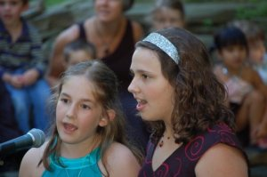 Ava(left) And Me(right) At our fifth grade graduation 2 years ago