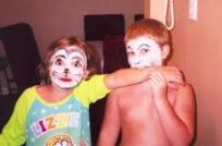 Face paint by Nanna