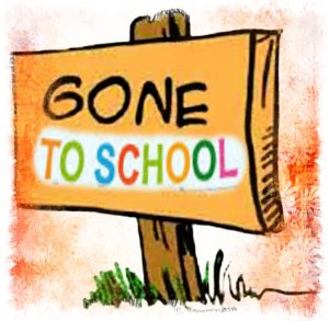 gone to school